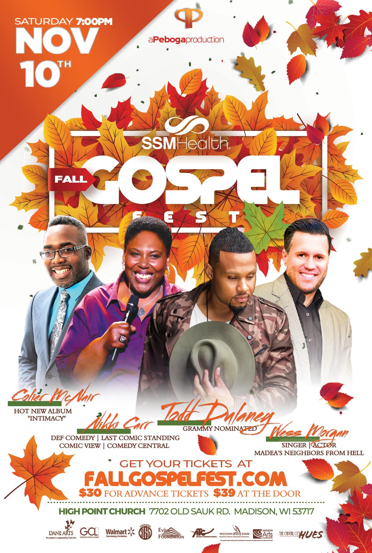 SSM Health Fall Gospel Fest